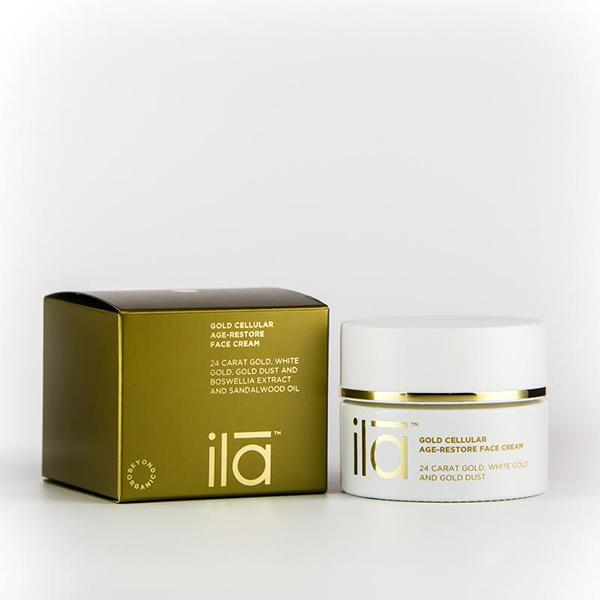 ILA Gold Cellular Age-Restore Face Cream
