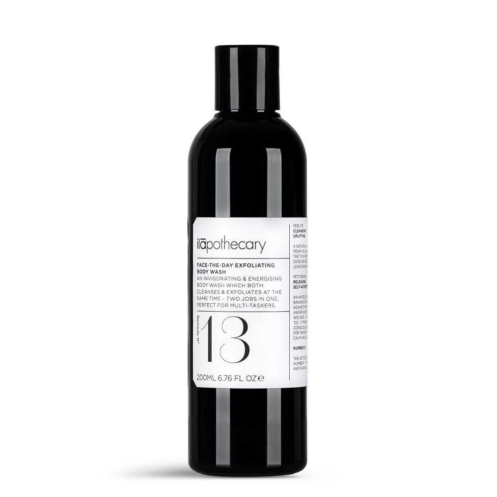 Face-The-Day Exfoliating Body Wash – ilapothecary