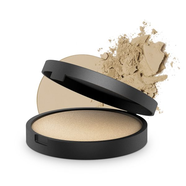 INIKA Baked Mineral Foundation Grace 8g With Product