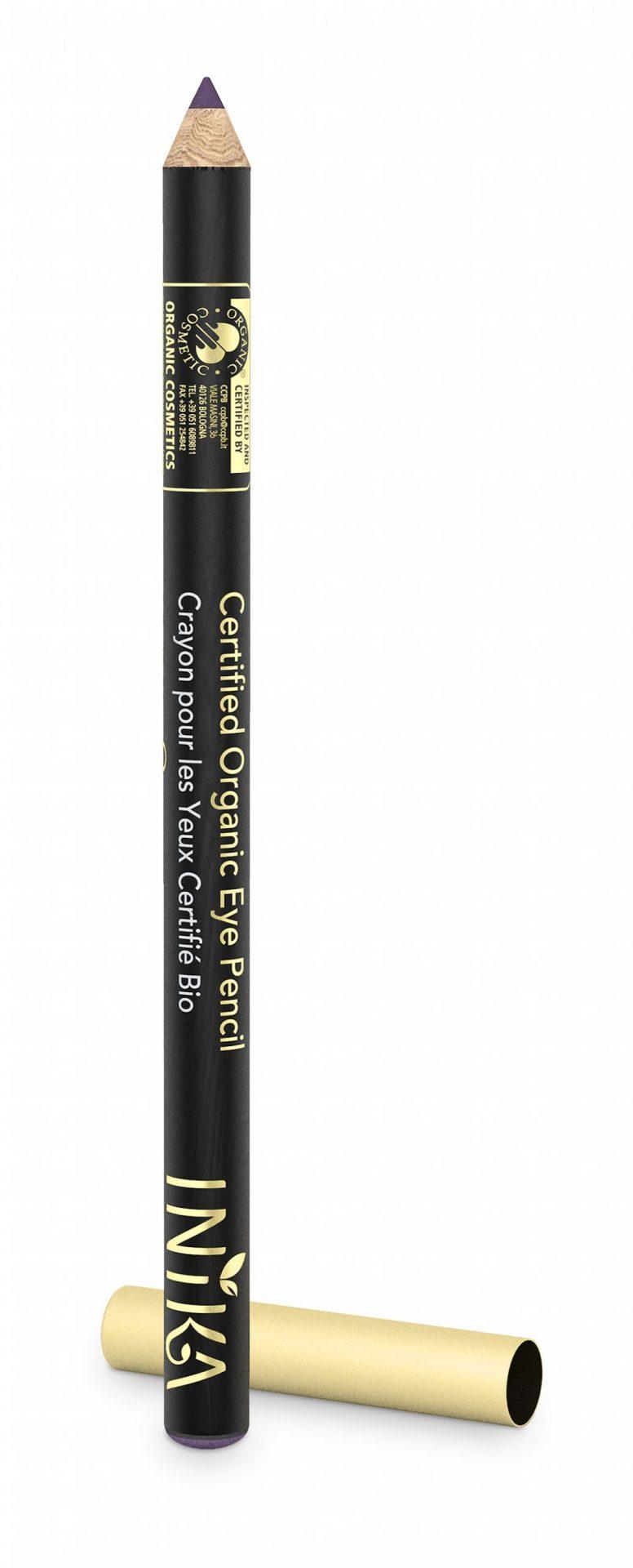 INIKA Certified Organic Eye Pencil – Pure Purple