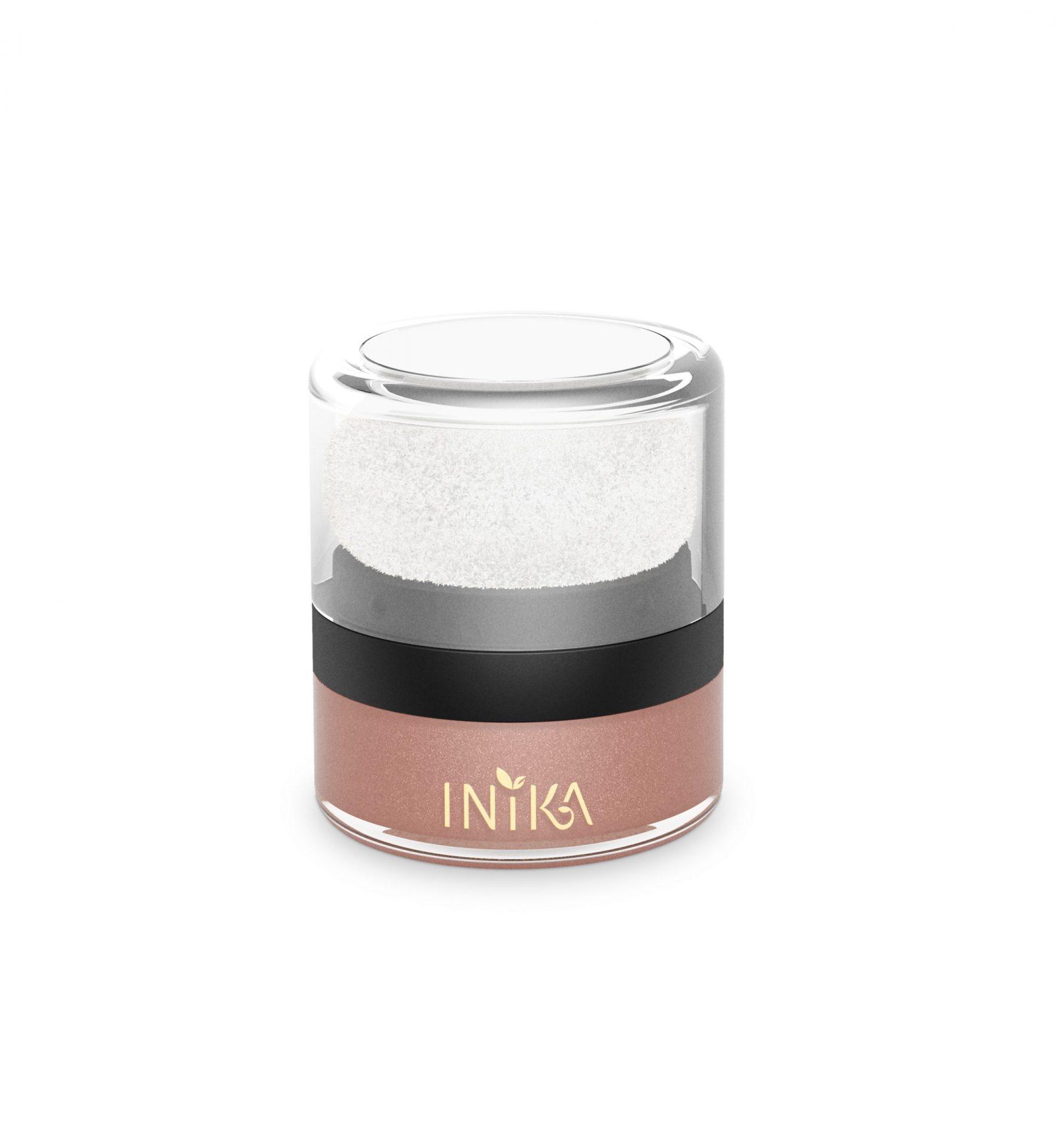 INIKA Mineral Blush Puff Pot – Pink Petal