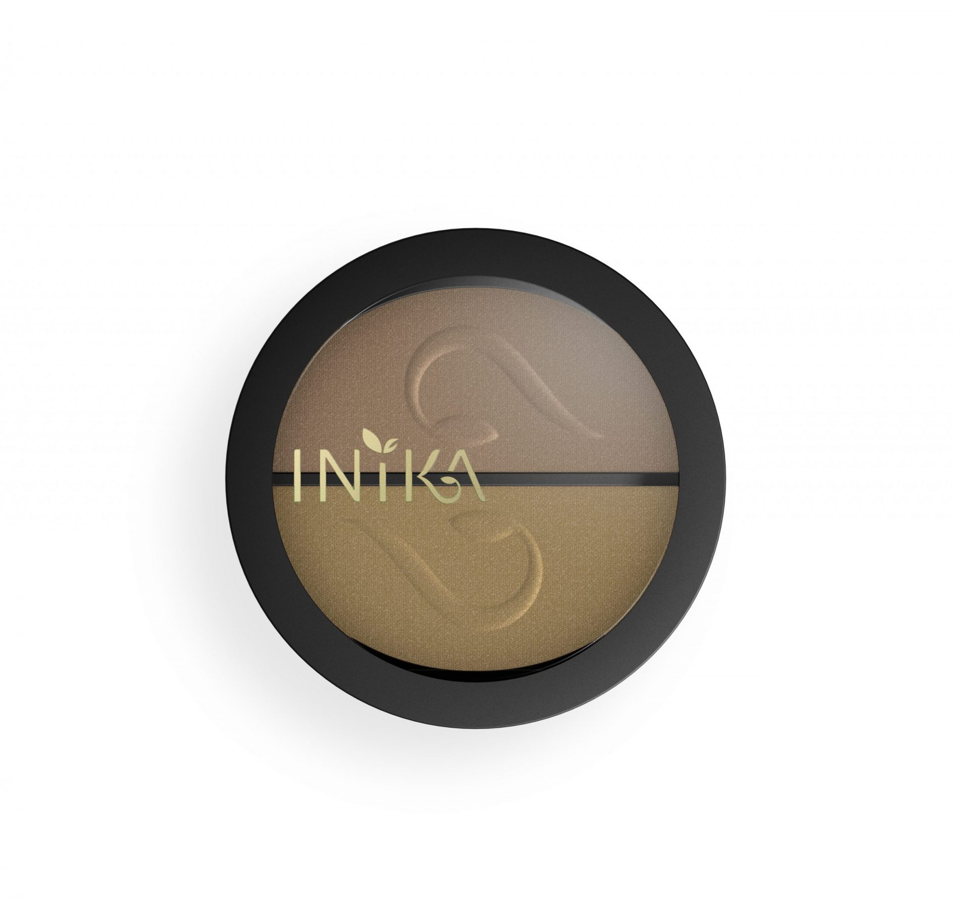 INIKA Pressed Mineral Eye Shadow Duo – Gold Oyster