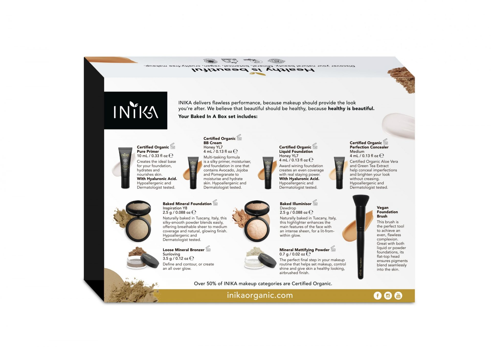 INIKA Baked In A Box Inspiration