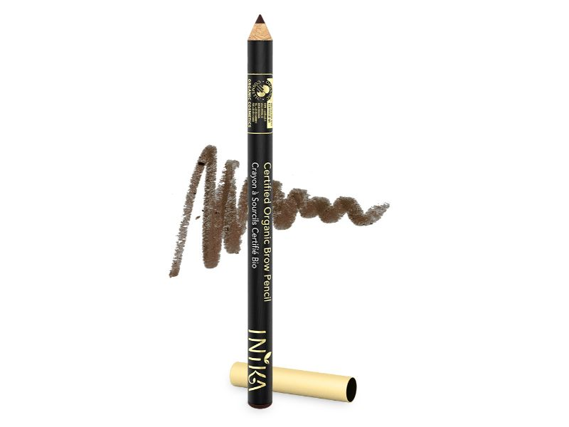 INIKA Certified Organic Brow Pencil – Dark Brunette