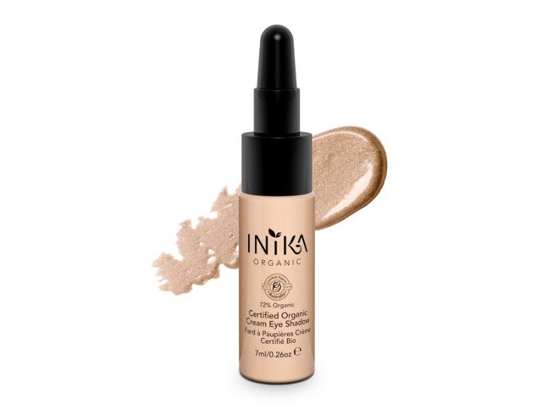 INIKA Certified Organic Cream Eye Shadow – Champagne