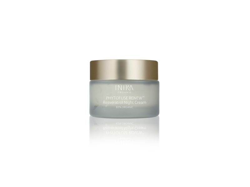 INIKA Phytofuse Renew Resveratrol Night Cream